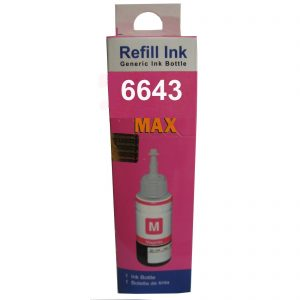Max Magenta Photo Dye 70ML Compatible Ink For Epson L110 L210 L380 L485 Printer