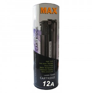 Max 12A Black Toner For HP LaserJet 1010 1020 M1005 Printer