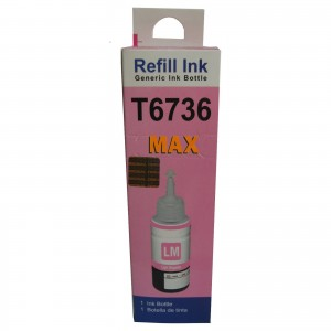 Max Light Magenta Pigment 70ML Compatible High Quality Ink For Epson L800 L805 L810 L850 Printer