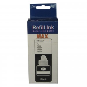 Max Black Photo Dye 130ml Compatible Ink For Brother DCP-T300 T500W T700W Printer