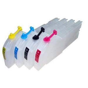 Max Refillable Ink Cartridge Set LC38 For Brother Printer