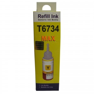 Max Light Yellow Pigment 70ML Compatible Ink For Epson L800 L805 L810 L850 Printer