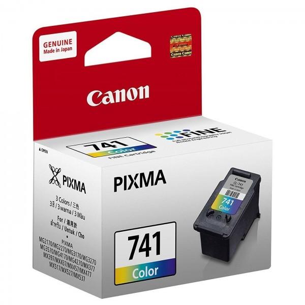 Canon CL741 TriColor Ink Cartridge (Original Box Pack)