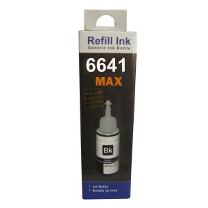 Max 6641 Black Refill Ink 70ML For Epson L-Series Printer
