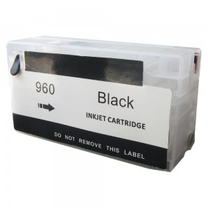 Max Empty Refillable 960 960XL Black Ink Cartridge For HP OfficeJet Pro 3610 3620 Printer