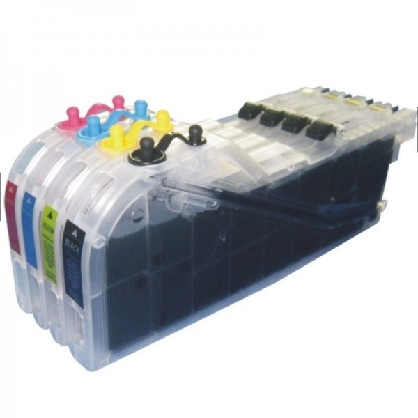 Max Refillable LC535 LC539 Ink Cartridge For Brother J100 J200 Printer