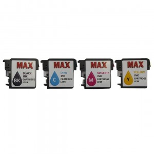 Max Mini Refillable Ink Cartridge Set LC39 For Brother Printer