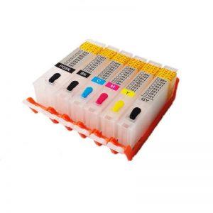 Max Empty Refillable PGI-750 CLI-751 Ink Cartridge SET(ARC chip) For Canon IX6770 IX6870 MX927 Printer (5 Color)SET/ (6 Color)SET