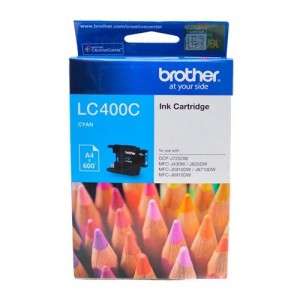 Brother LC400 Cyan Original Ink Cartridge