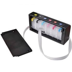 Max Empty CISS Ink Tank Kit For Epson 6 Color Inkjet Printer
