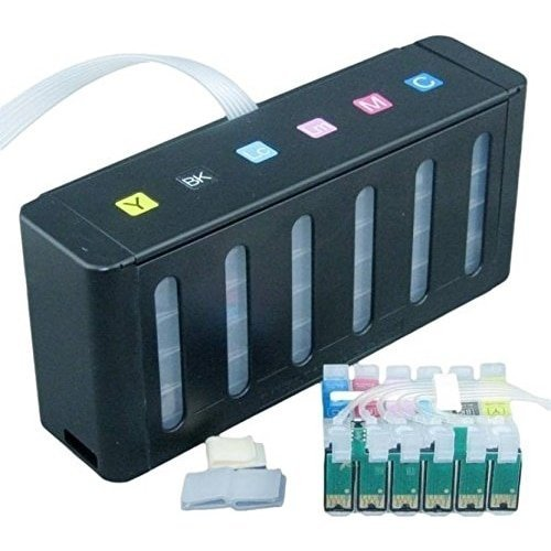 Max Empty CISS Ink Tank Kit 85 For Epson 1390, T60 Printer