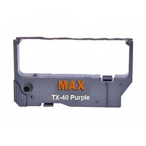 Max Professional DMP Ribbon Cartridge TX40 Purple For Data Mega SP216 Star MP200 RC200B 200BR SP200 212F Wipro TX40 Printer