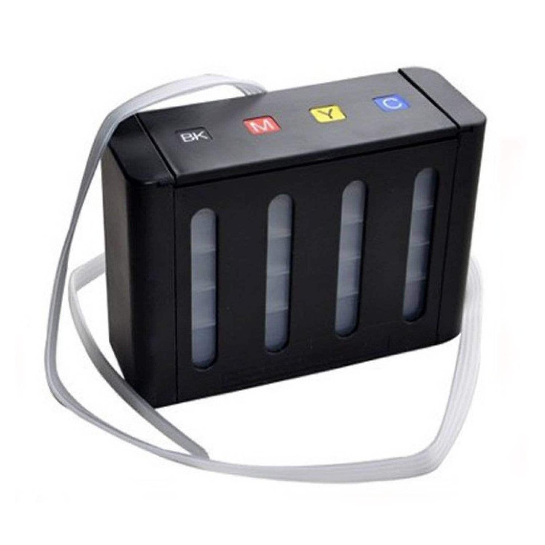 Max CISS Tank 4 Color For All Inkjet Printer (Black)