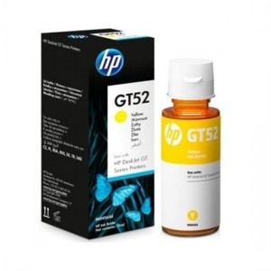 HP GT52 Yellow 70ML Genuine Ink Bottle (M0H56AA)