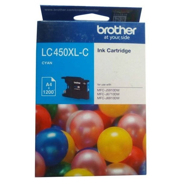 Brother LC450XL-BK Black Original Ink Cartridge
