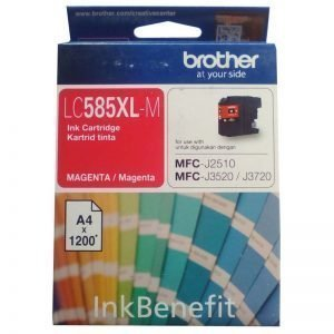 Brother LC585XL-M Magenta Original Ink Cartridge
