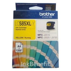 Brother LC585XL-Y Yellow Original Ink Cartridge