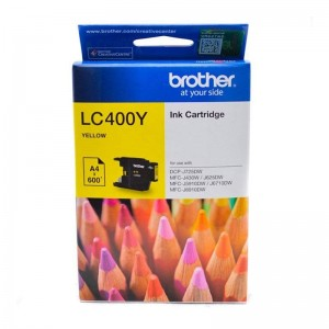 Brother LC400 Yellow Original Ink Cartridge