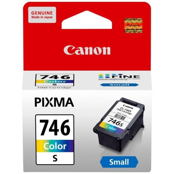 Canon CL-746S Small Color Original Ink Cartridge