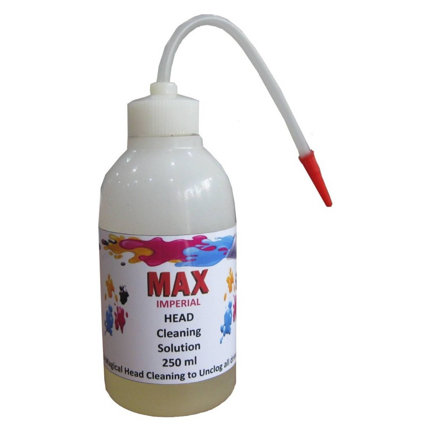 Max Imperial 250ML CISS Print Head Cleaning Solution Kit For Epson Brother  Canon HP Inkjet Printer