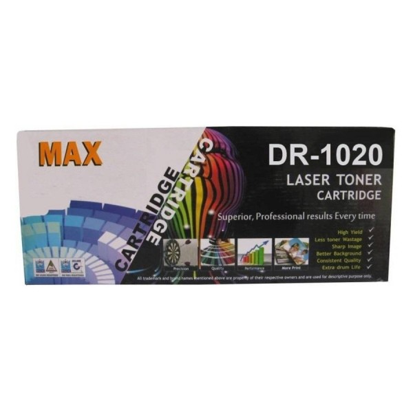 Max DR1020 Compatible Drum Unit For Brother Laser Printer (Box Pack)
