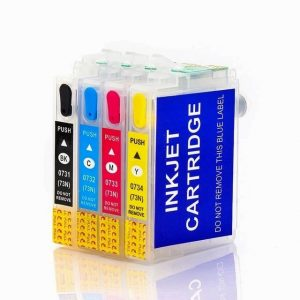 Max 73N Empty Refillable Ink Cartridge For Epson Printer