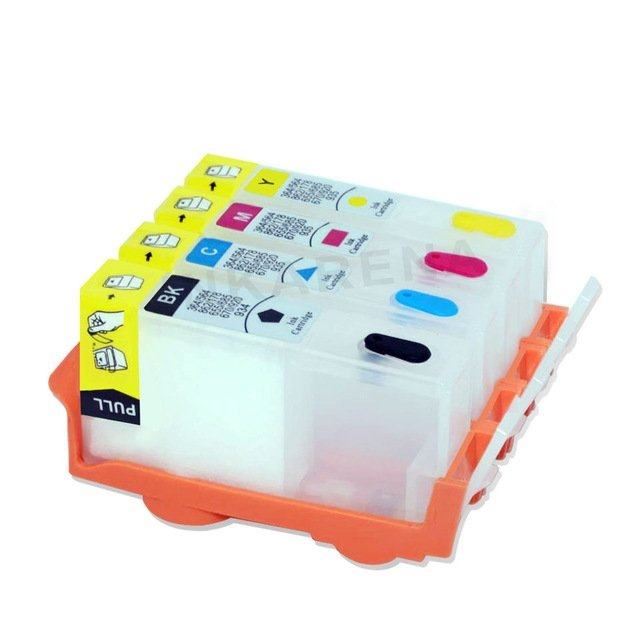 Empty Refillable Ink Cartridge HP 920 920XL BK C M Y