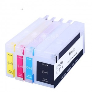 Max Empty Refillable 950 951 Ink Cartridge For HP OfficeJet Pro 8600 8610 8620 Printer (4 Color)