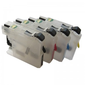 Max Empty Refillable LC663 LC665XL LC669XL Ink Cartridge For Brother MFC-J2320 MFC-J2720 Printer