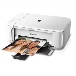 Unboxed Canon PIXMA MG3570 Multi Function Inkjet Color Printer (White)