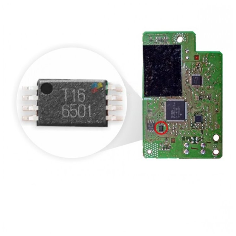 Ic Eeprom T08 T16 For Canon G1000 Printer Mainboard