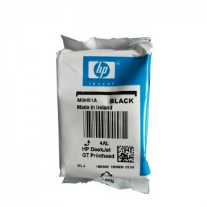 Print Head M0H51A GT51 Black Replacement (Pouch Pack)