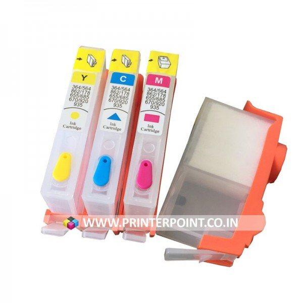 Max Empty Refillable HP 934 935 Ink Cartridge For HP OfficeJet 6230 6812 6815 6820 6830 6835 Printer (4 Color)