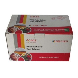 VMS Empty CISS Ink Tank 73N For Epson T10, T11, T21 Printer