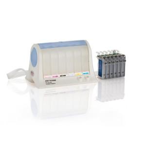VMS Empty CISS Ink Tank 82N For Epson TX700W, TX800FW Printer