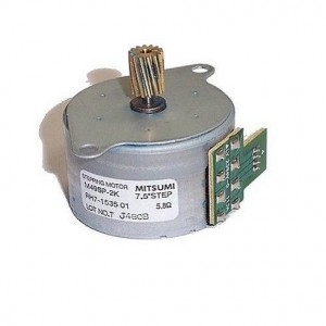 Stepping Motor For HP Color LaserJet 2550 Printer (RH7-1535 01)