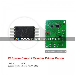 Chip IC EEPROM For Canon Pixma E410 Printer