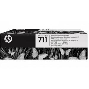 "Print Head HP 711 For HP DesignJet T120 24"" T520 36"" Printer (C1Q10A)"