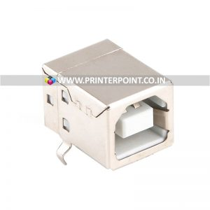 Printer USB Connector Type B Female Adapter Plug 4 Pin 90 Degree