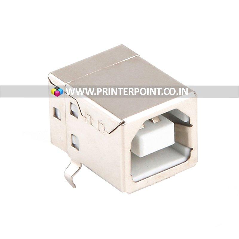 Printer USB Connector Type B Female Adapter Plug 4 Pin 90 Degree