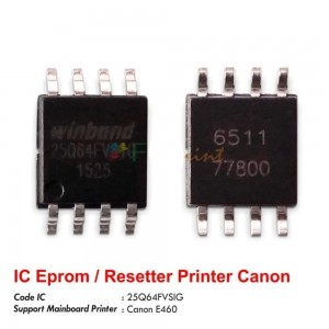 Chip IC EEPROM For Canon Pixma E460 Printer
