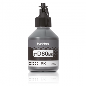 Brother BTD60BK Original Black Ink Bottle