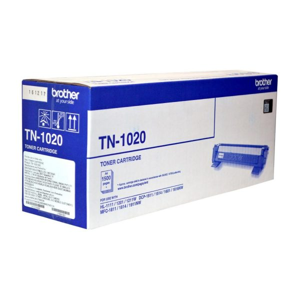 Brother TN-1020 Original Toner Cartridge (Box Pack)