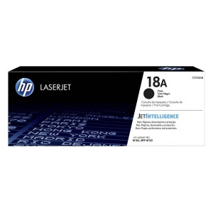 HP 18A Black Original LaserJet Toner Cartridge (CF218A)