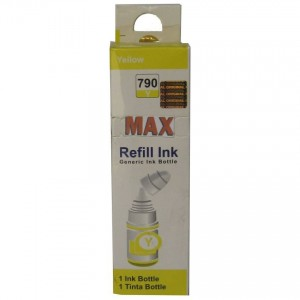 Max 790 Yellow Compatible Refill Ink 70ML For Canon G-Series Printer