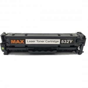 Laser Toner Cartridge CB532 Yellow Compatible For HP CP 2020 2025n M451dw Printer