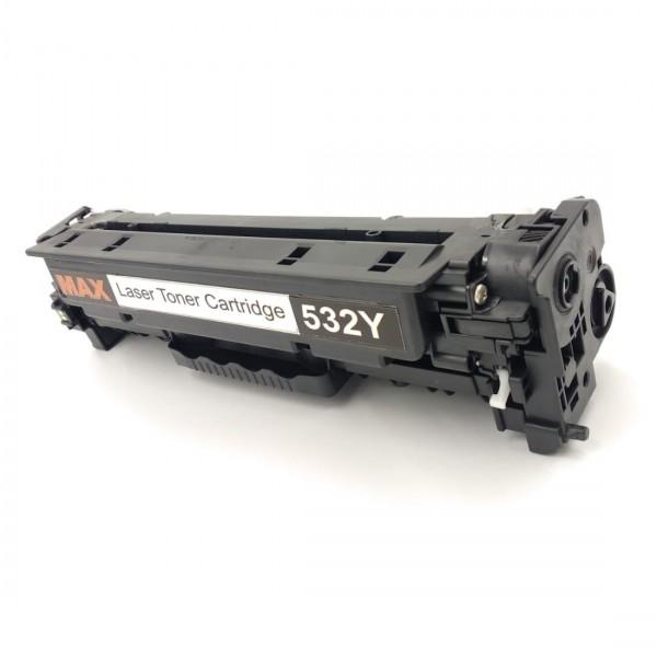 Max 532Y Compatible Toner Cartridge For HP CP2025 CM2320 Printer