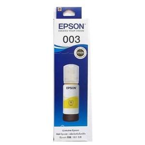Epson 003 Yellow 65ML Genuine Ink Bottle (C13T00V498)