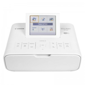Canon SELPHY CP1300 Wireless Photo Printer (White)