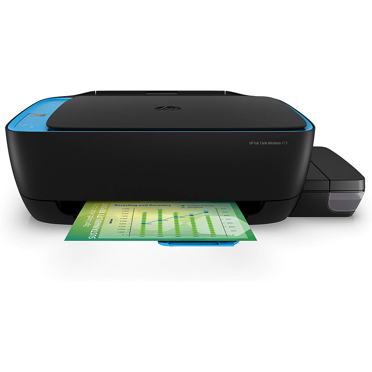 Hp Ink Tank Wireless 419 All In One Multi Function Color